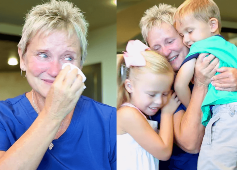 NICU in a tearful reunion with the babies she saved.