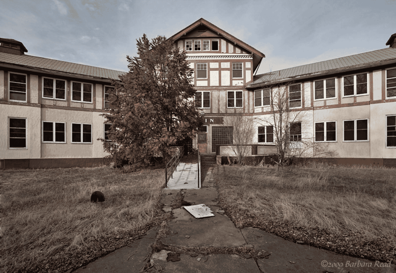 Tranquille Sanatorium, Canada (Main Hospital)