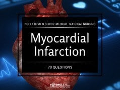 Myocardial Infarction and Heart Failure NCLEX Practice Quiz (70 Items)