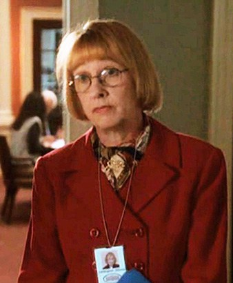 Kathryn Joosten as Mrs. Landingham on The West Wing. Image via: snakkle.com