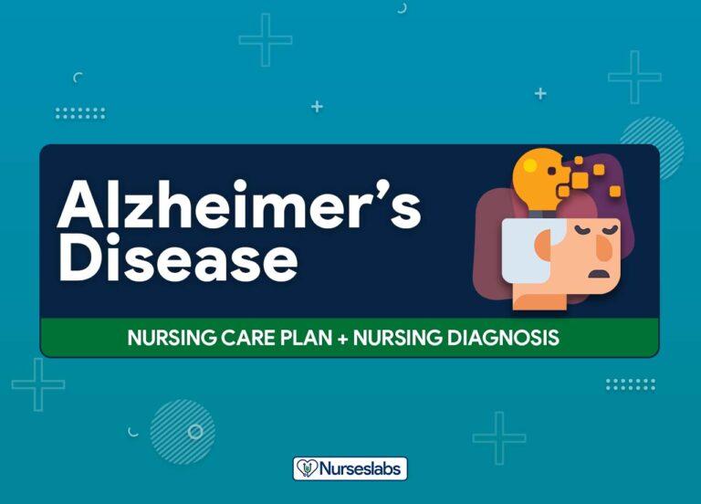 14 Alzheimer's Disease and Dementia – Nursing Care Plans Nursing Diagnosis
