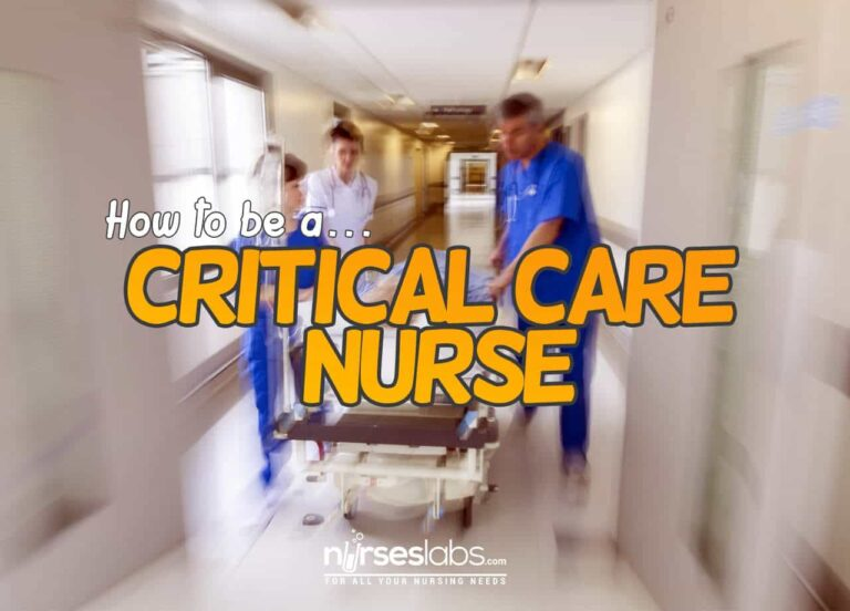 My Tips For New Grad Nurses on How to be a Critical Care Nurse