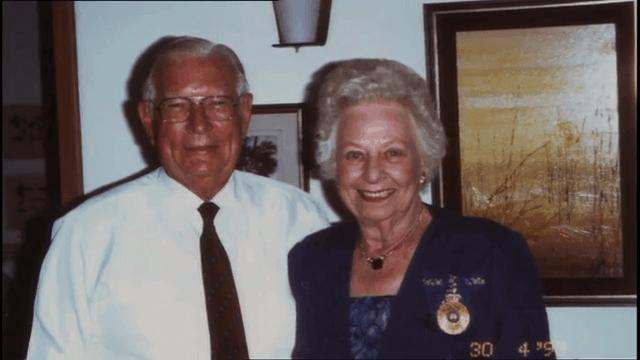 Vivian Bullwinkel and Husband Frank Statham