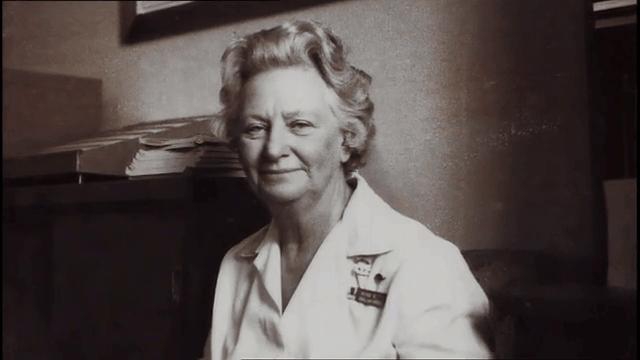 Vivian Bullwinkel during years as Presi
