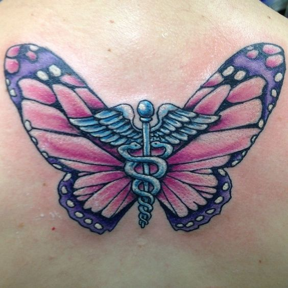 Might aswell get a butterfly tattoo, right?