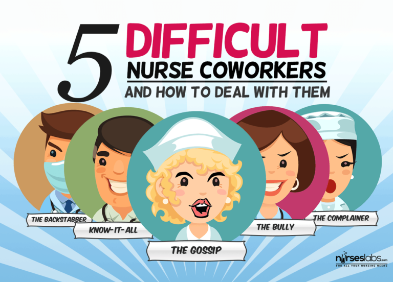 5 Difficult Nurse Coworkers You'll Encounter And How To Deal With Them