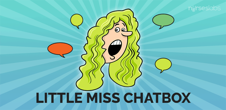 4. Little Miss Chatbox
