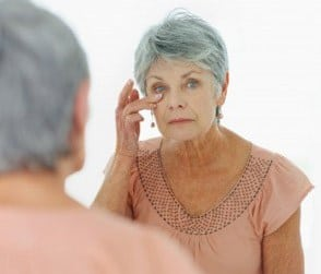 Dry skin is common among elderly.
