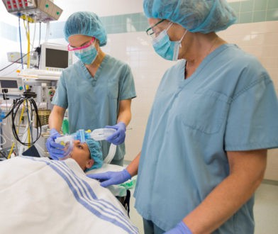 Nurse anesthetists are highly competent and skilled nurses who collaborate with anesthesiologists during surgeries.
