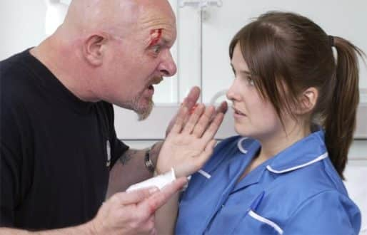 nurses experience on caring for aggressive We use cookies to enhance your experience on our  but could become moody and aggressive  action by the nurses for society to wake up to their caring role.