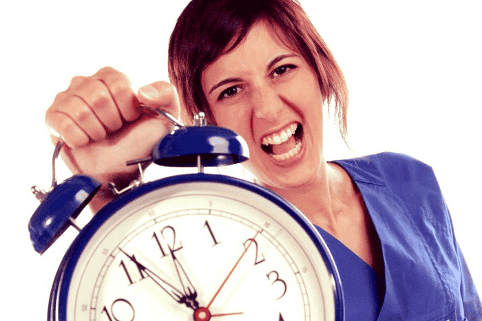 Without proper time management, a nurse could easily lose herself in the job.