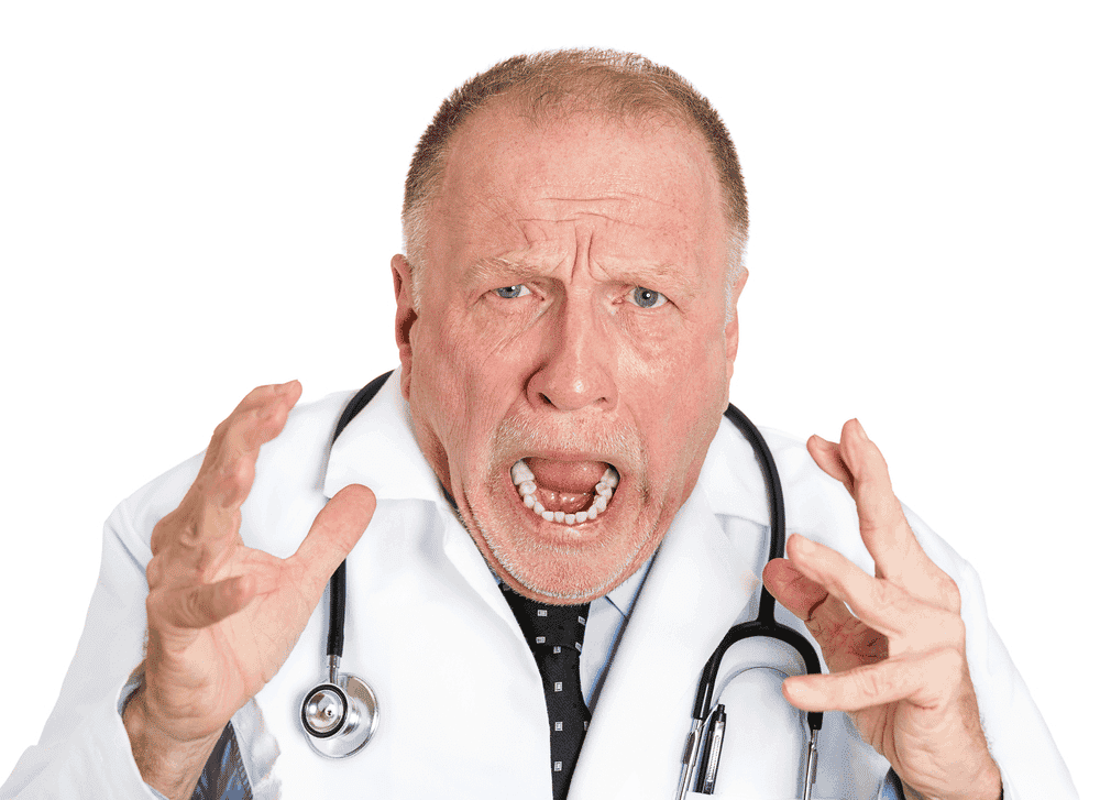 Not all doctors behave badly. But when they do, it's usually an unpleasant experience.