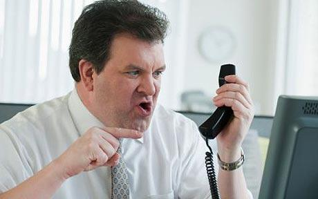 No matter how angry your doctor gets because of your late night call, never lose your patience.