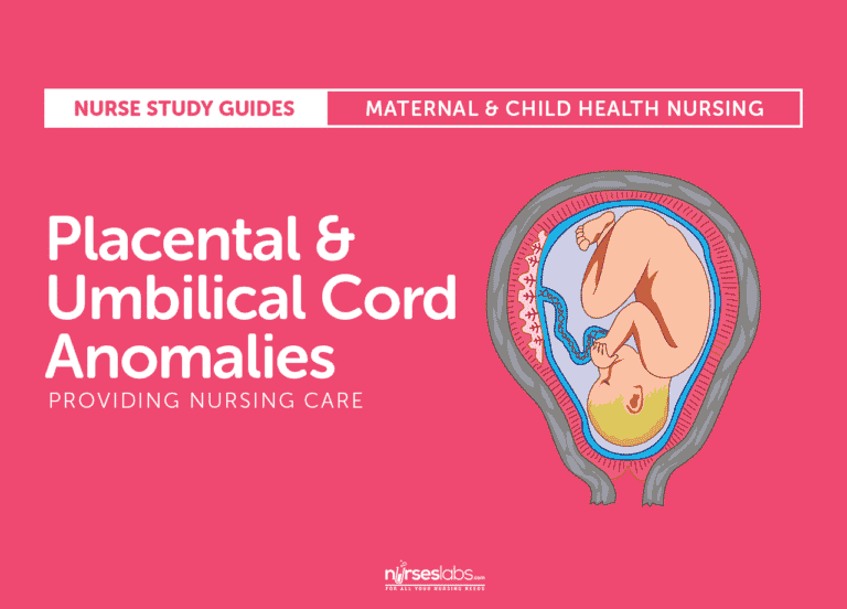 Placental and Cord Anomalies