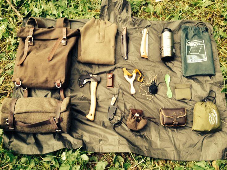 Самодельное снаряжение для тайги - ИЖ-94 Тайга