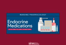 Endocrine Medications NCLEX Practice Quiz (20 items)