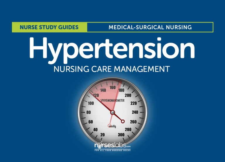 Hypertension Nursing Care Management: A Study Guide