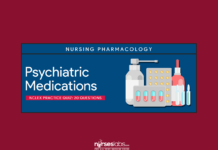 Psychiatric Medications NCLEX Practice Quiz (20 items)