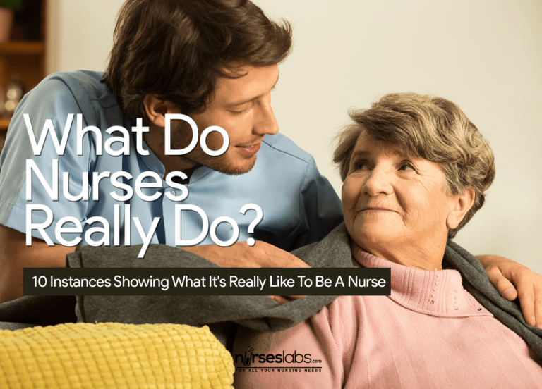 10 Instances Showing What It's Really Like To Be A Nurse