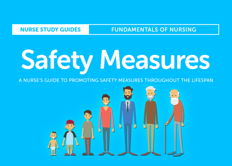 A Nurse's Guide to Promoting Safety Measures Throughout the Lifespan