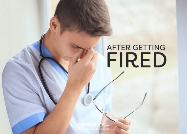 5 Things Nurses Can Do After Getting Fired