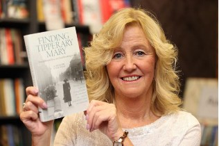 Phyllis with her new book entitled 'Finding Tipperary Mary'