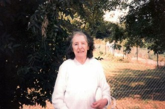 Mary, Phyllis' mother, 1997