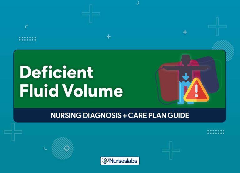 Deficient Fluid Volume - Nursing Diagnosis and Care Plan Guide