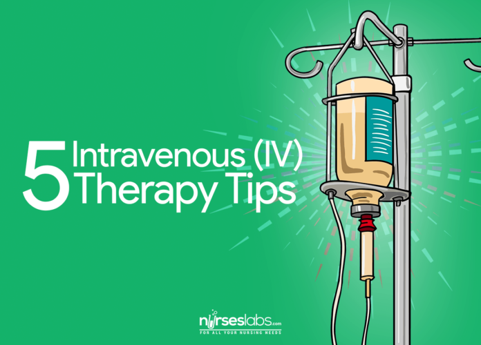 5 Essential Intravenous Therapy Tips