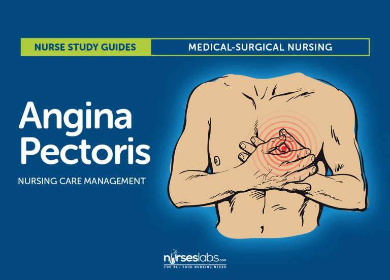 Angina Pectoris Nursing Care Management