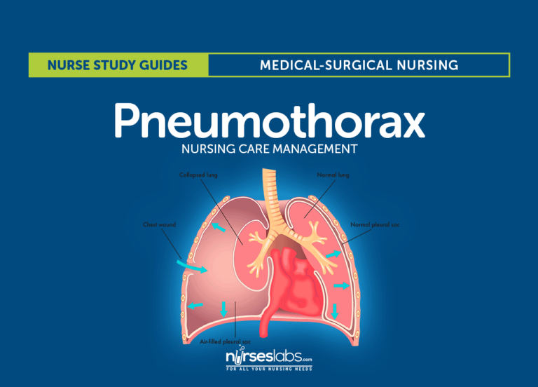 Pneumothorax Nursing Care Management