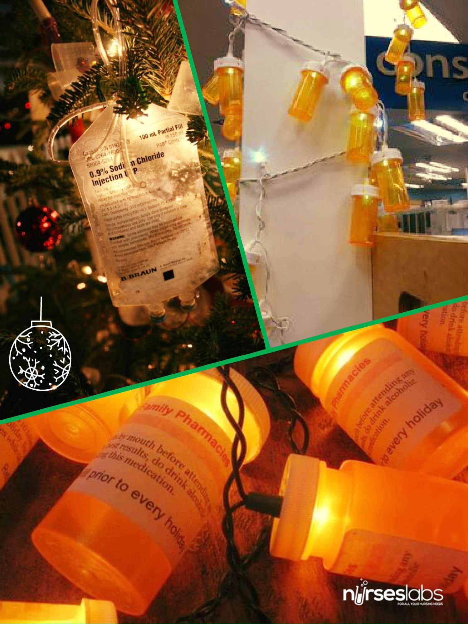 Nursing Christmas Lights