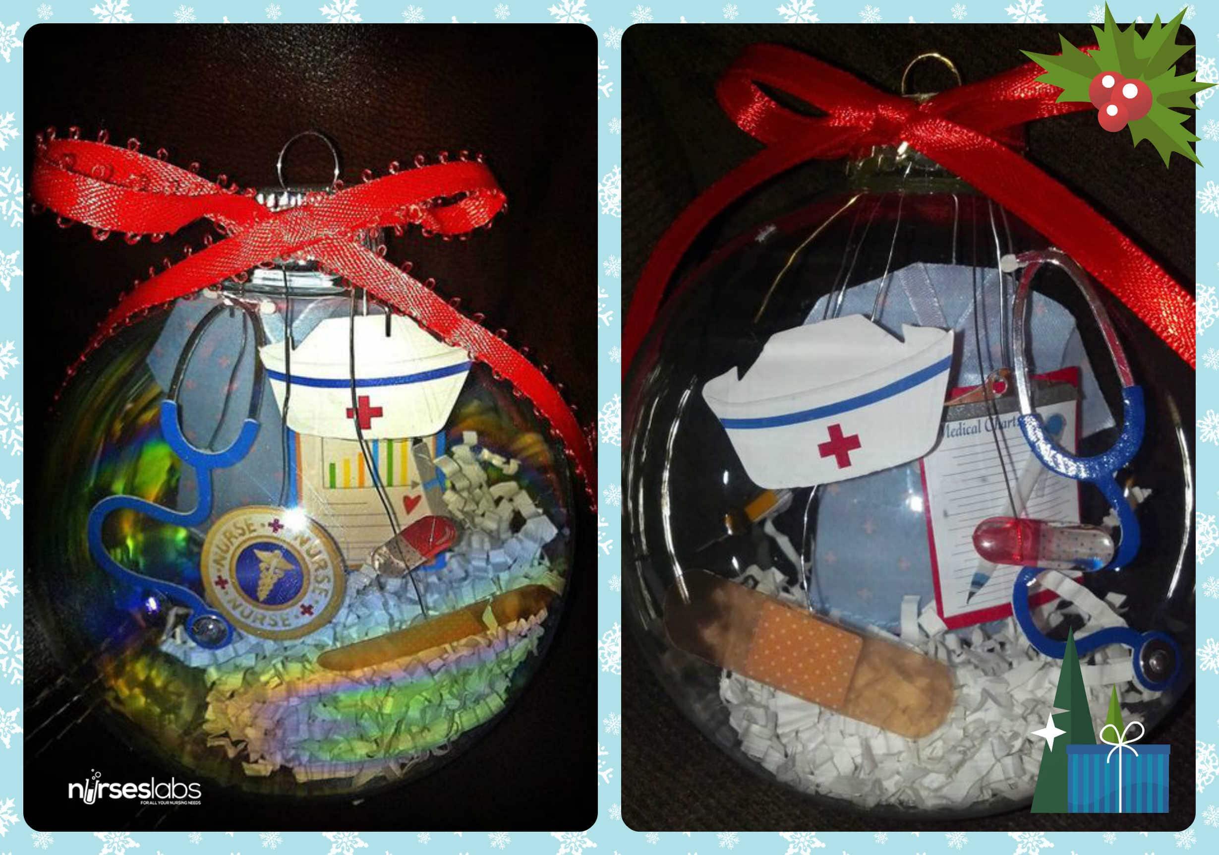 Nursing Christmas Ornaments 2
