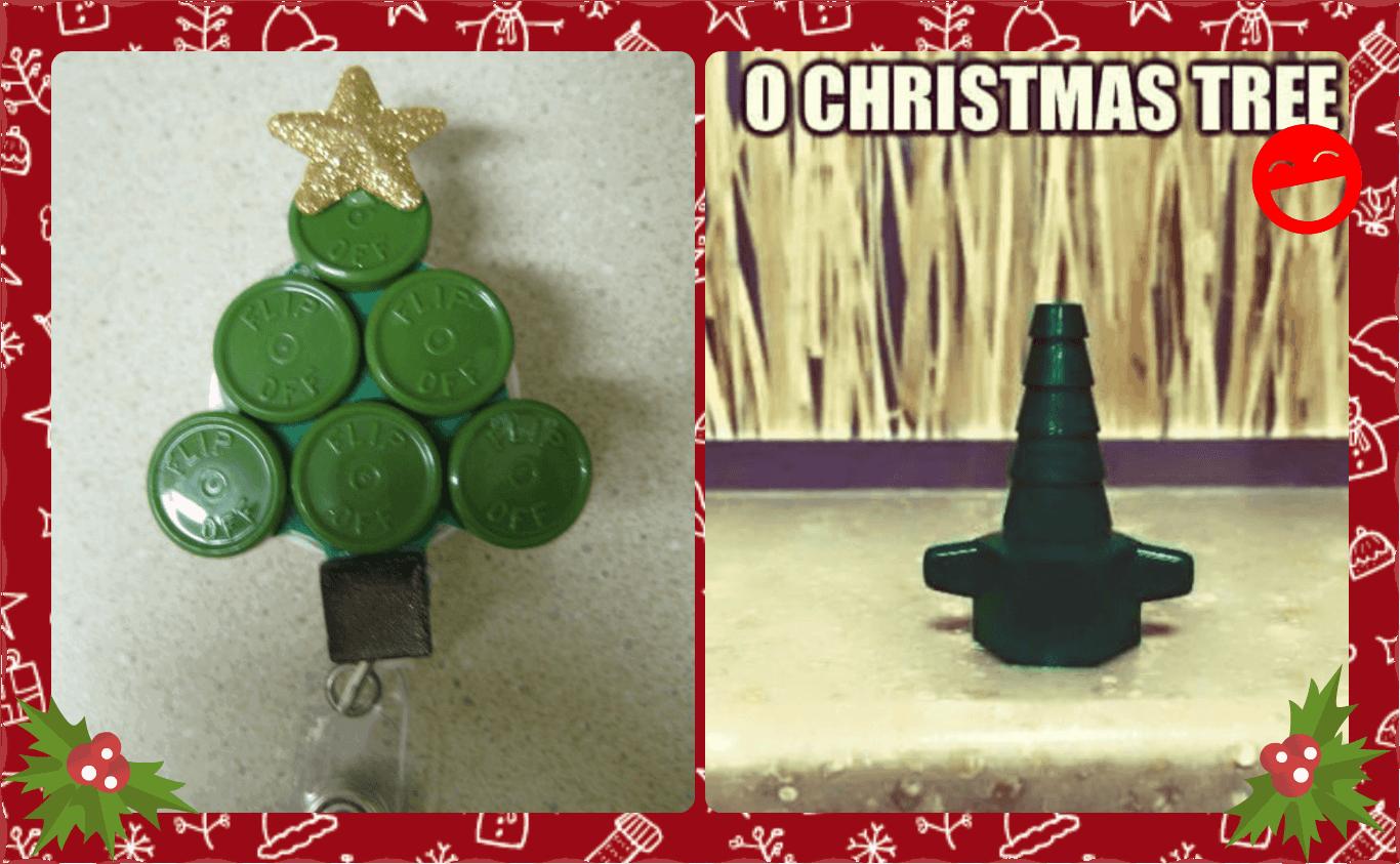 Nursing Christmas Tree 3