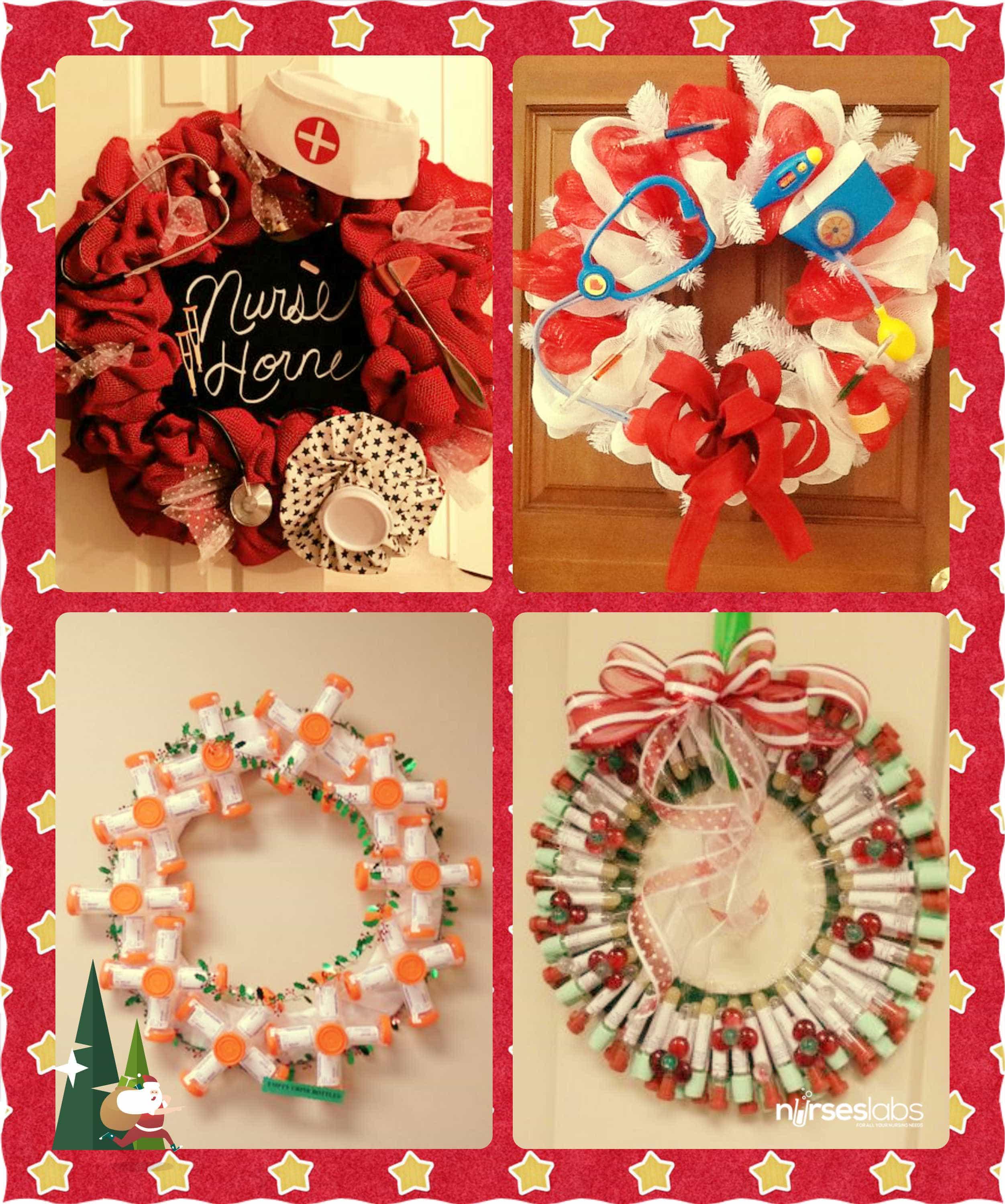 Nursing Christmas Wreath 1