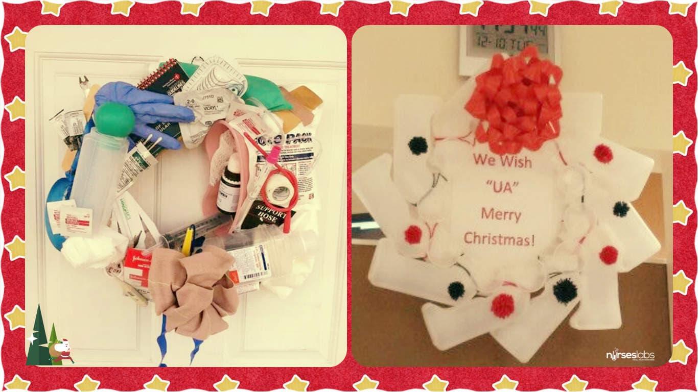 Nursing Christmas Wreath 2