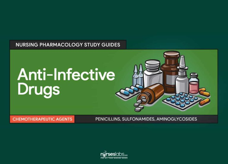 Anti-Infective Drugs Nursing Pharmacology and Study Guide