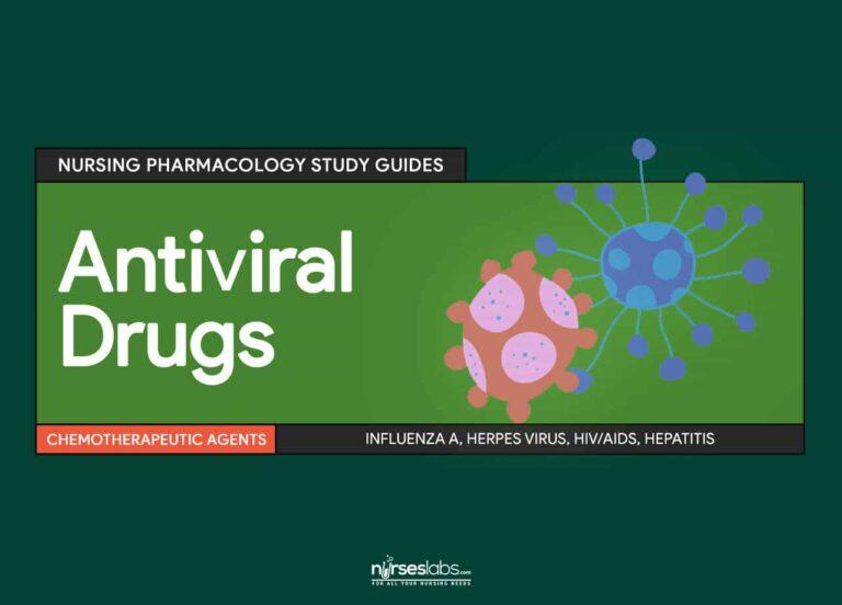 Antiviral Drugs: Nursing Pharmacology Study Guide - Nurseslabs