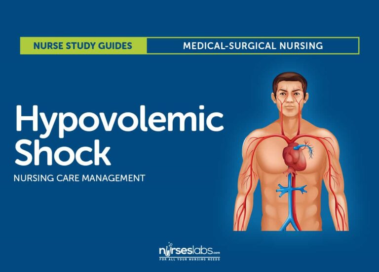 Hypovolemic Shock Nursing Care Management