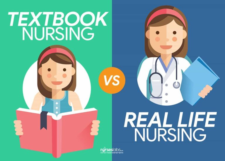10 Differences: Textbook Nursing vs Real Life Nursing