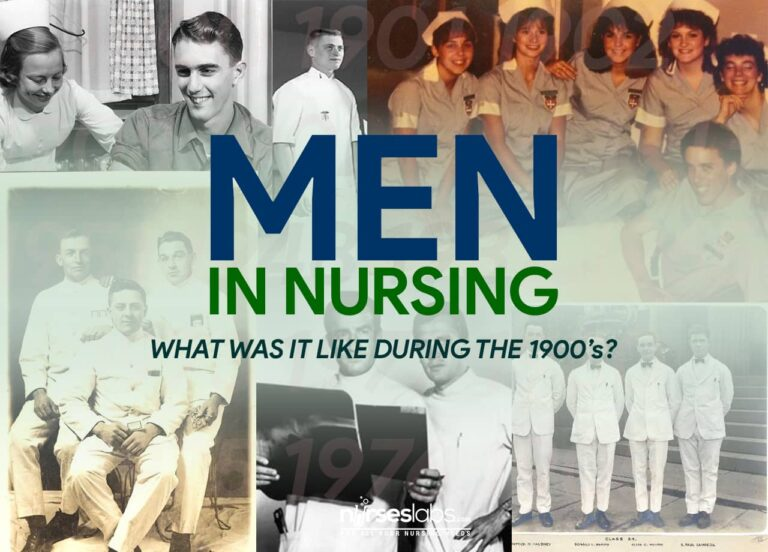 Men in Nursing: What Was It Like During the 1900's?