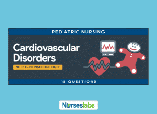 Pediatric Nursing: Cardiovascular Disorders NCLEX Practice Quiz (15 Questions)