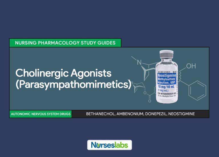 Cholinergic Agonists (Parasympathomimetics) Nursing Pharmacology Study Guides