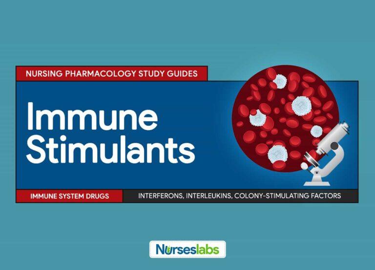 Immune Stimulants Nursing Pharmacology Study Guides