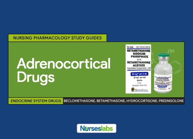 Adrenocortical Agents Nursing Pharmacology and Study Guide