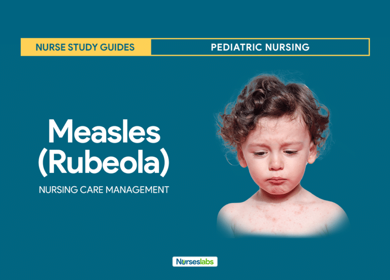 Measles (Rubeola) Nursing Care Planning and Management