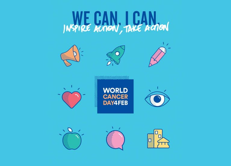 """World Cancer Day: """"We Can. I Can."""" Make a Difference in the Burden of Cancer"""