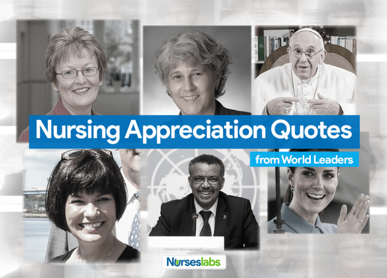 11 Nursing Appreciation Quotes from World Leaders