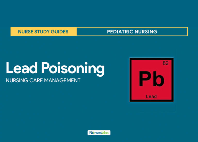 Lead Poisoning Nursing Care Management and Planning