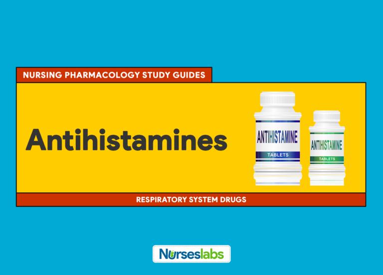 Antihistamines Nursing Pharmacology Study Guide
